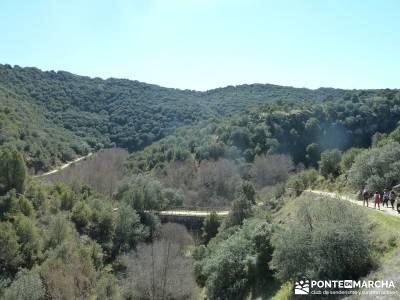 Azud del Mesto - Cascada del Hervidero;escaladores de madrid sierra de ayllon